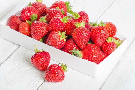 picked: Strawberries - Box of hand picked strawberries. Delicious summer treat!