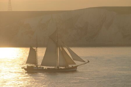 dover: Sailing Ship Dover, English Channel