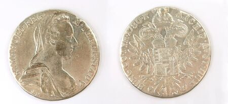 coinage: Maria Theresia taler coins, the most important coinage of the middle east for centuries.