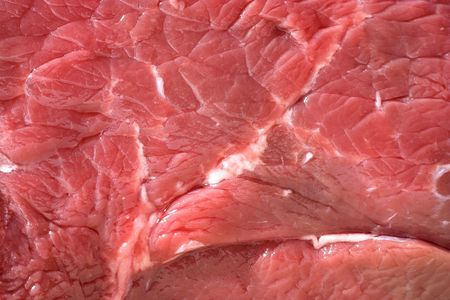 rump steak: Raw beef texture