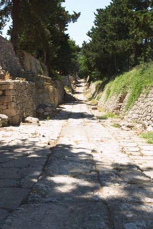 kreta: Minoan Weg von Knossos, Kreta, der Little Palace