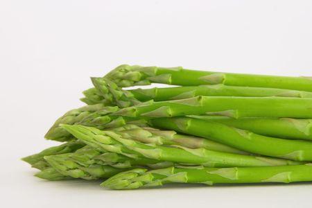 A bunch of asparagus photo