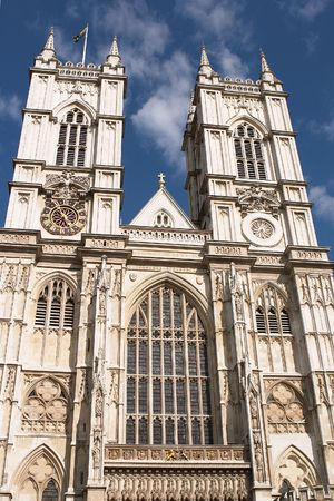 Westminster Abbey, London, site of Coronations and other Royal occasions. photo