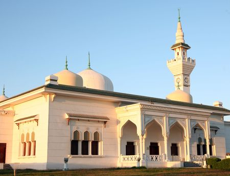 sunni: A mosque in Wakrah, Qatar Stock Photo
