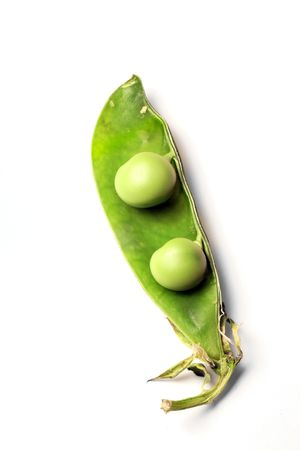peas in a pod: Two peas in a pod. As similar as things can be.
