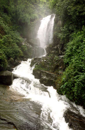 shri: A view of Ramboda falls, Sri Lanka, in the tea plantation country at the centre of the island.