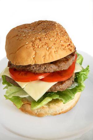 beefburger: A homemade beefburger