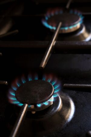 lng: Domestic gas cooker burner rings