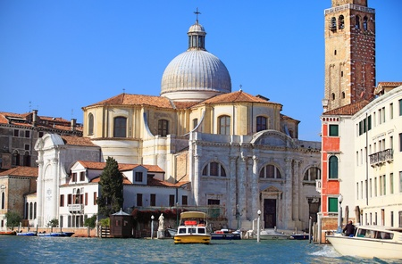 The church of San Geremia on the Grand Canal in Venice. Stock Photo - 8473774