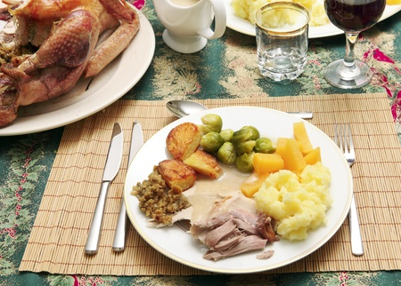 gravy: Christmas dinner