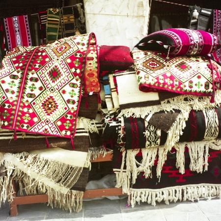 souq: Textiles in an Arab souq