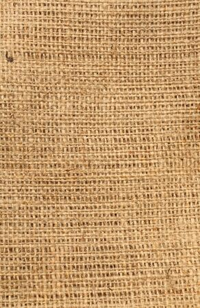 A piece of hessian or sackcloth for a background