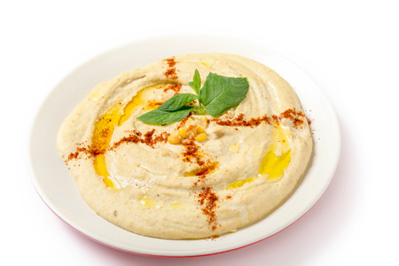 Hummus made with channa dal, a small variety of chickpeas that are sold skinless and have an extremely low glycemic index, making this suitable for diabetic as well as low-carb diets
