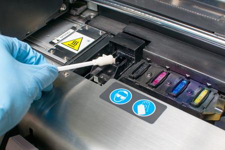 clean the printer Stock fotó