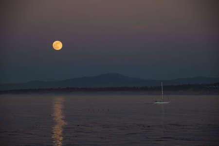 monterey: Moonlight in Monterey Bay