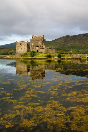 highlands: Eilean Donan Castle, Loch Duich, Kintail, Highlands, Scotland.2nd September 2015. Editorial