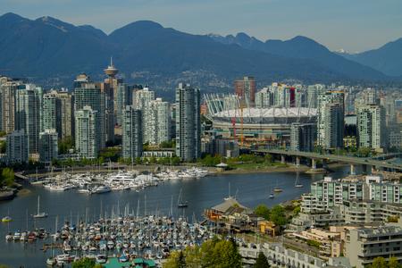 vancouver: Vancouver and False Creek
