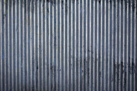 Weathered galvanized and corrugated sheet steel texture