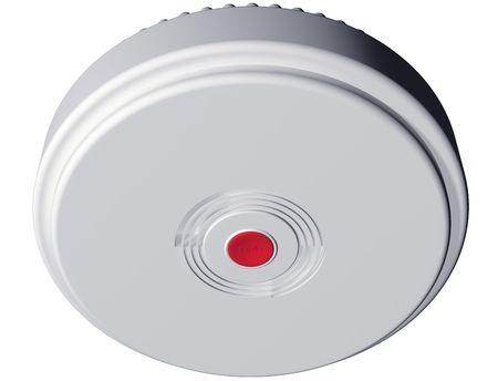 Isolated illustration of an everyday smoke alarm Stock Illustration - 5353967