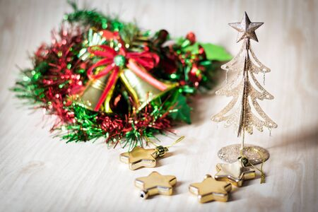 potpourri: heart,star,christmas ornament and decoration for celebrate,selective focus.
