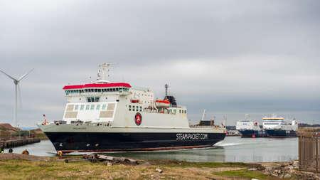 October 2020 Heysam steam packet ferries to douglas isle of man