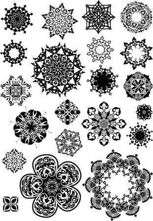 circular: circular abstract symbol Illustration