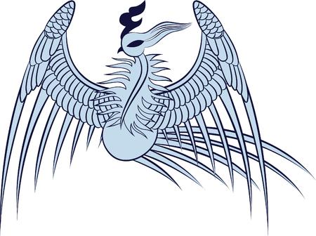 phoenix illustration Stock Vector - 7225351