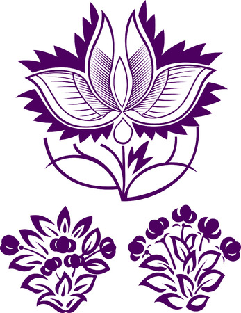 liane: flower pattern design
