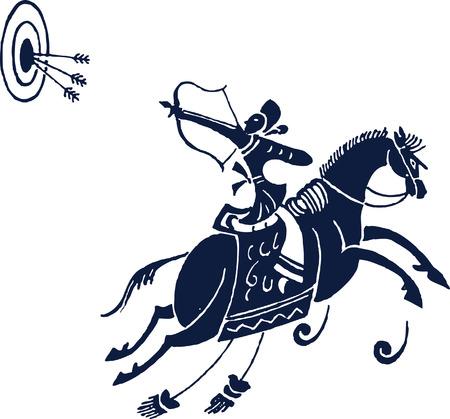 man of war: horse riding