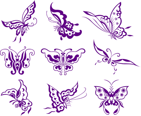 butterfly illustration Stock Vector - 7661672
