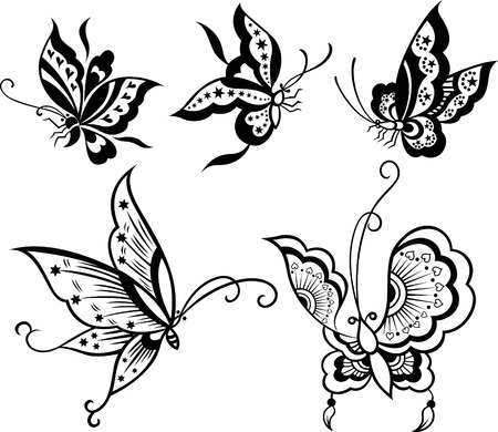 Butterfly Set Stock Vector - 7796651
