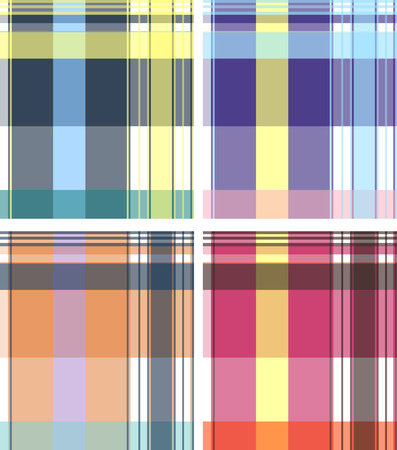 plaid fabric textile pattern Stock Vector - 7796715