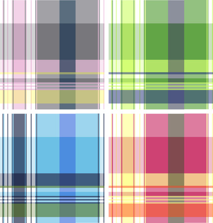 woven surface: plaid fabric textile pattern