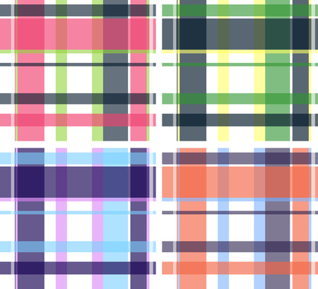 plaid fabric textile pattern Stock Vector - 7796649