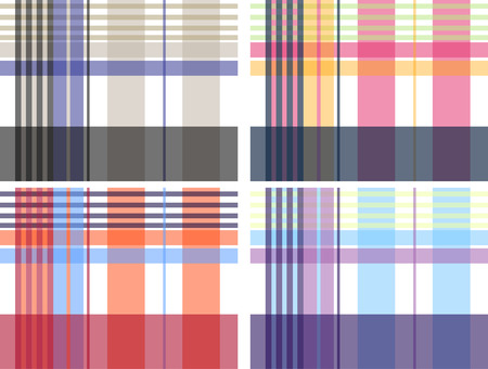 plaid fabric textile pattern Stock Vector - 7796666