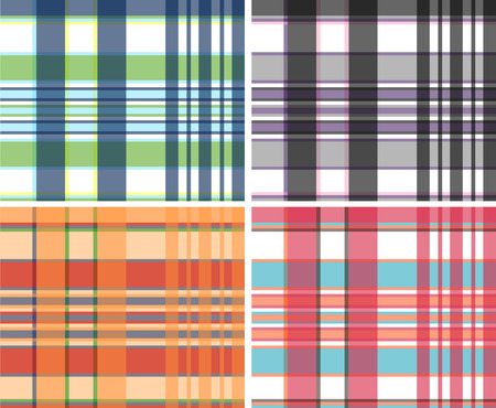 patric: plaid fabric textile pattern