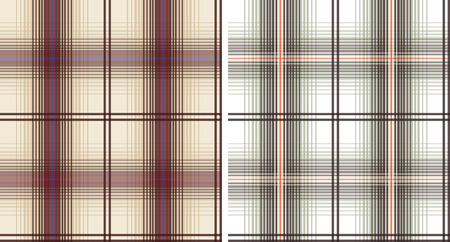 plaid fabric textile pattern Stock Vector - 7796721