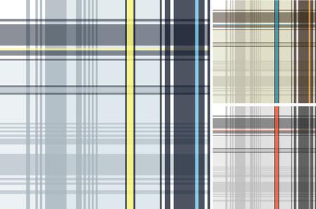 patron de textile de tissu écossais  Vecteurs