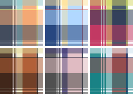 Check Pattern Collection Stock Vector - 7796725