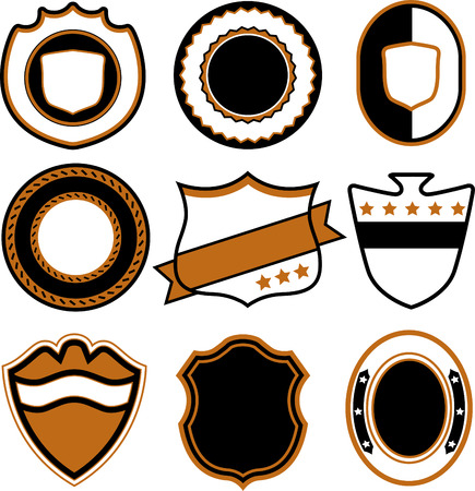 emblem badge template  Stock Vector - 7936484