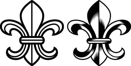 fleur: Escudo de flor de Lis
