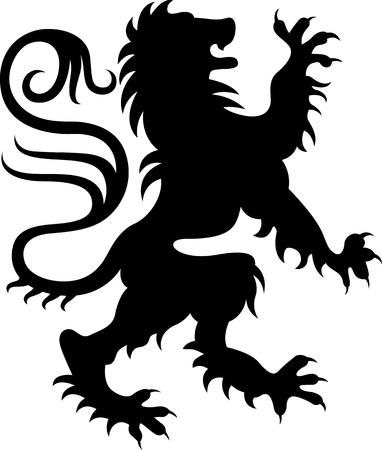 lion wings: Ilustraci�n de grifo