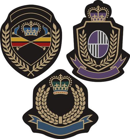 blasone: insigina classica emblema distintivo scudo