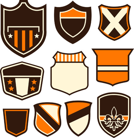emblem badge design Vector