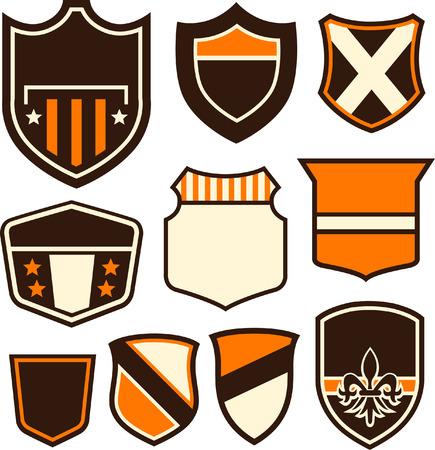 emblem badge design Stock Vector - 8340148
