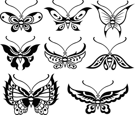butterfly illustration Stock Vector - 8340147