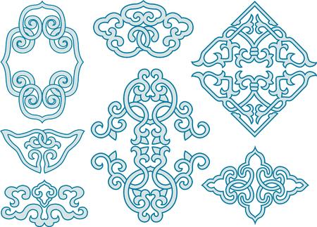 conception de motif celtique Illustration