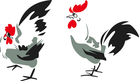 Rooster Design Stock Vector - 8340145
