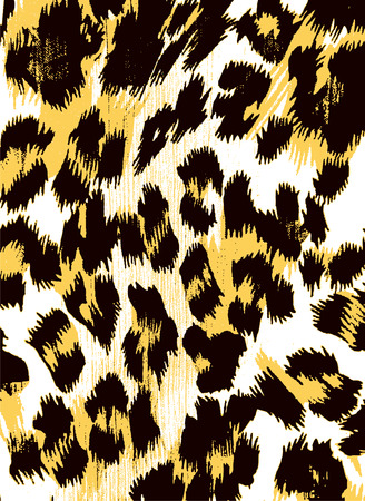 abstract animal print backdrop pattern Vector