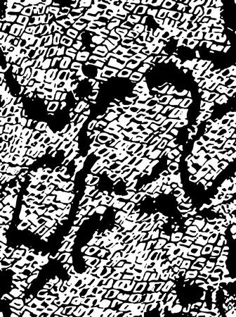 pinceladas: patr�n de abstracta animal tel�n de fondo de impresi�n Vectores